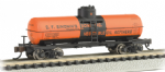 Bachmann 17856 N Scale ACF 36ft.6in. 10,000 Gal Single-Dome Tank C. F. Simoninft.s Sons